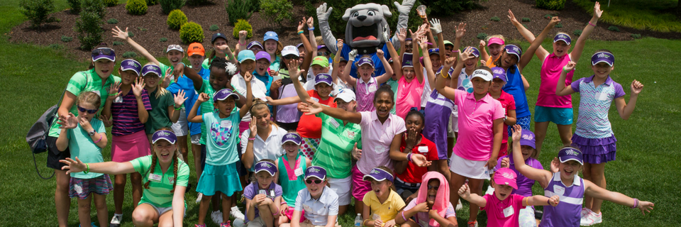 GG16 - Girls Golf Academy - Group Photo Banner Size