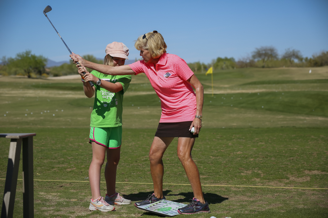 Girls Golf Founder Sandy Labauve