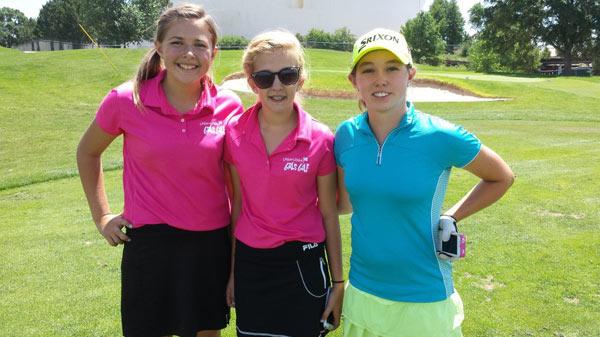 Teen golf